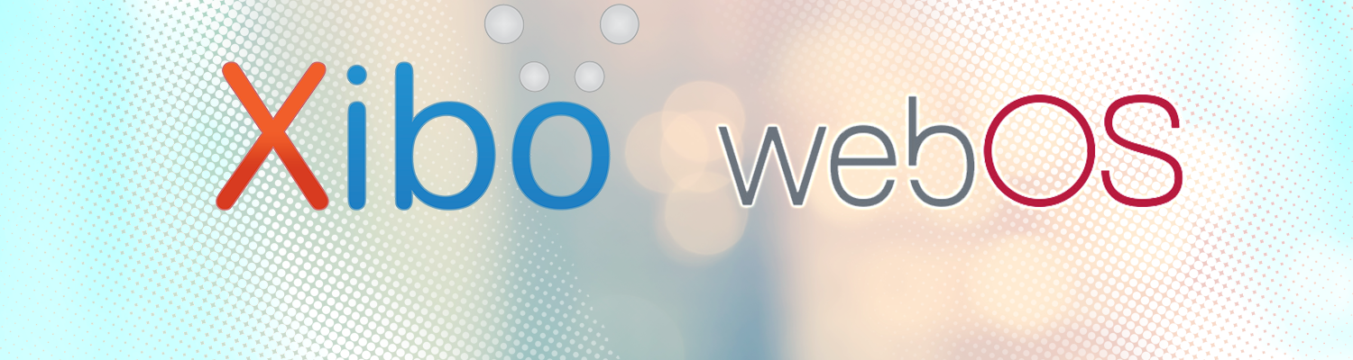 Xibo for webOS 1.8 R12 Available