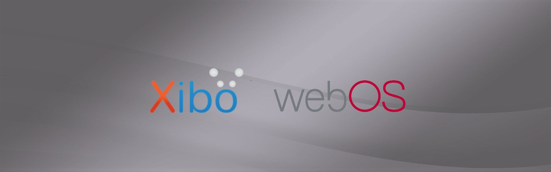 Xibo for webOS on Transparent OLED!